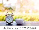 coffee cappuccino in the...   Shutterstock . vector #1021592494