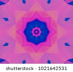 Seamless Pink Kaleidoscope...
