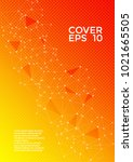 cover page layout. global... | Shutterstock .eps vector #1021665505