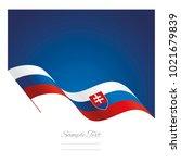 slovakia abstract wave flag... | Shutterstock .eps vector #1021679839
