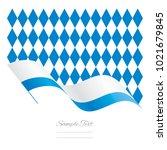 Bavaria Abstract Wave Flag...