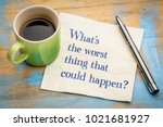 what is the worst thing that... | Shutterstock . vector #1021681927