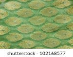 Printed Indian Silk Fabric