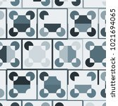 mosaic tiles background with... | Shutterstock .eps vector #1021694065