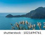 beautiful sea landscape view | Shutterstock . vector #1021694761