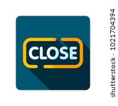 close sign icon. e commerce...