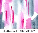 hand made watercolor wash... | Shutterstock . vector #1021708429