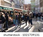 prague  czech republic  ... | Shutterstock . vector #1021739131