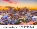 baltimore  maryland  usa... | Shutterstock . vector #1021745164