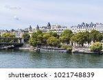 the picturesque embankments of... | Shutterstock . vector #1021748839