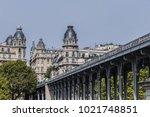 the picturesque embankments of... | Shutterstock . vector #1021748851