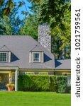 a perfect neighborhood. houses... | Shutterstock . vector #1021759561
