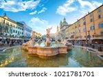 rome  italy   december 08  2018 ... | Shutterstock . vector #1021781701