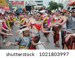 A Traditional Thai Dance Group...