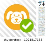 valid puppycoin icon with 700... | Shutterstock .eps vector #1021817155