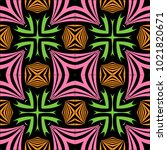 tribal seamless colorful... | Shutterstock .eps vector #1021820671