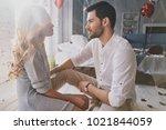 he will never let her go.... | Shutterstock . vector #1021844059