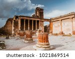 Ruins Of Ancient Pompeii  Roma...