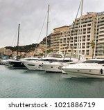 monaco  europe   january 2018   ...   Shutterstock . vector #1021886719