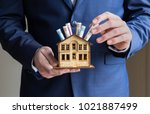 mortgage and real estate... | Shutterstock . vector #1021887499