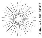 vintage sunburst design vector...   Shutterstock .eps vector #1021906369