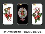 design cover for phone with...   Shutterstock .eps vector #1021910791