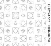 seamless geometric ornamental...   Shutterstock .eps vector #1021913545