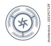 vector symbol  the strophalos ...   Shutterstock .eps vector #1021917139