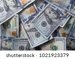 new 100  dollar bill | Shutterstock . vector #1021923379