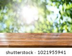 spring background table | Shutterstock . vector #1021955941