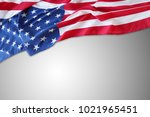 closeup of american flag on... | Shutterstock . vector #1021965451