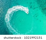 people are playing a jet ski in ... | Shutterstock . vector #1021992151