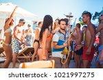 odessa  ukraine june 13  2014 ...   Shutterstock . vector #1021997275