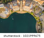 aerial shot of a beautiful... | Shutterstock . vector #1021999675