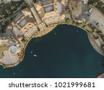 aerial shot of a beautiful... | Shutterstock . vector #1021999681