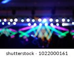 defocused entertainment concert ... | Shutterstock . vector #1022000161