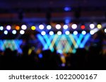 defocused entertainment concert ... | Shutterstock . vector #1022000167