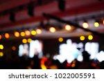 defocused entertainment concert ... | Shutterstock . vector #1022005591