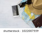 travel plan  trip vacation ... | Shutterstock . vector #1022007559