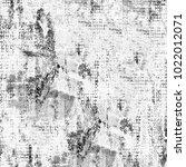 grunge black and white | Shutterstock . vector #1022012071