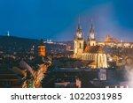 Prague  Czech Republic. Evenin...