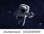 astronaut   elements of this... | Shutterstock . vector #1022034055