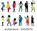 illustration of people... | Shutterstock .eps vector #10220470
