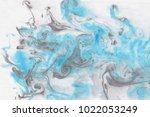 marbling painting creative... | Shutterstock . vector #1022053249