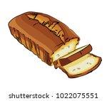 a vector illustration of a... | Shutterstock .eps vector #1022075551
