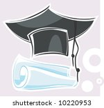 a bachelor award costume  | Shutterstock .eps vector #10220953