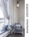 comfortable room corner ... | Shutterstock . vector #102210925