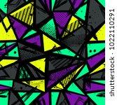 abstract seamless sport pattern ... | Shutterstock .eps vector #1022110291