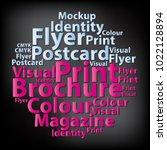 text cloud. design wordcloud.... | Shutterstock .eps vector #1022128894