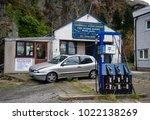 blaenau ffestiniog  gwynedd ... | Shutterstock . vector #1022138269
